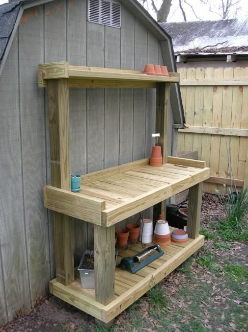 Best ideas about DIY Potting Bench Plans . Save or Pin Best 25 Potting benches ideas on Pinterest Now.