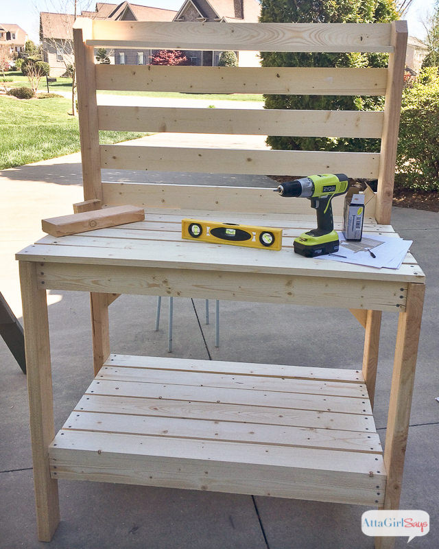 Best ideas about DIY Potting Benches . Save or Pin 18 DIY Potting Benches You ll Want to Show f Now.