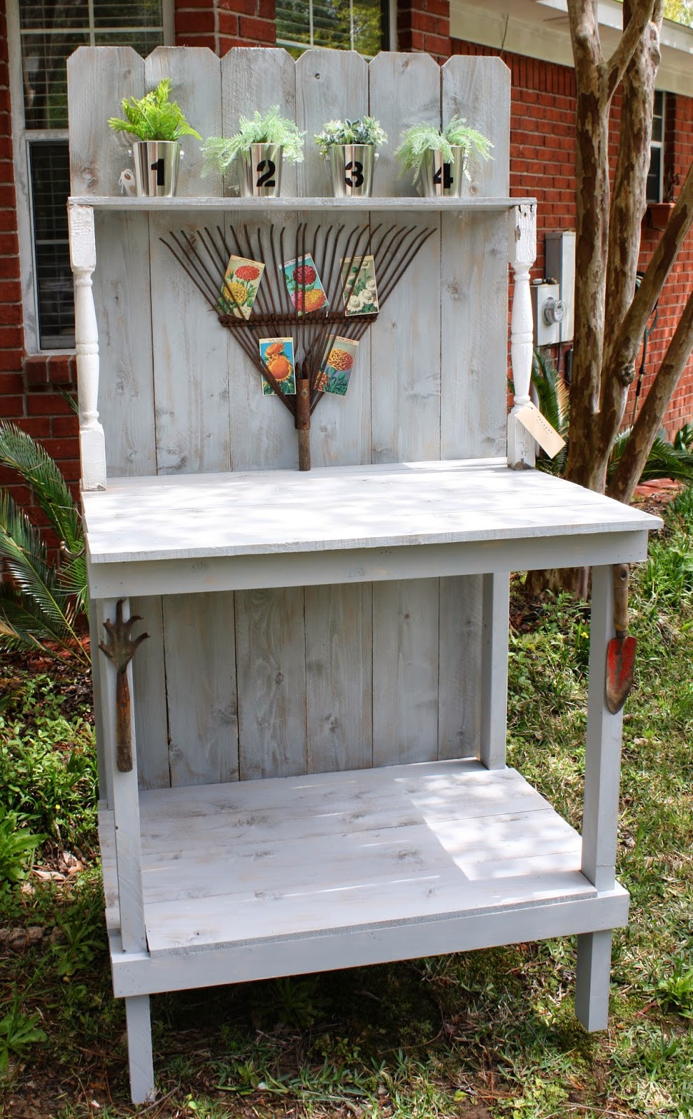 Best ideas about DIY Potting Benches . Save or Pin Coastal Charm DIY Potting Bench Now.