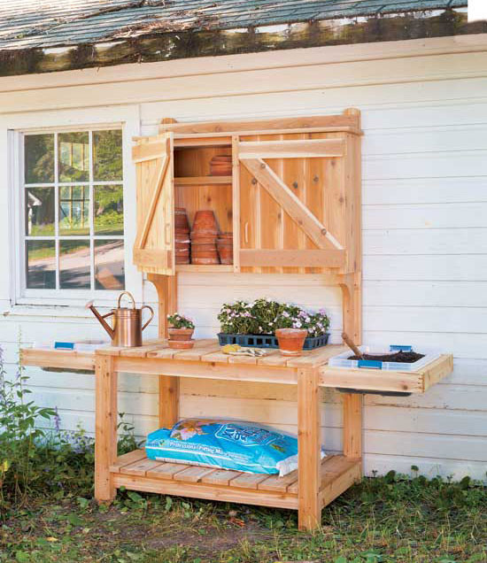 Best ideas about DIY Potting Benches . Save or Pin 16 Potting Bench Plans To Make Gardening Work Easy Now.