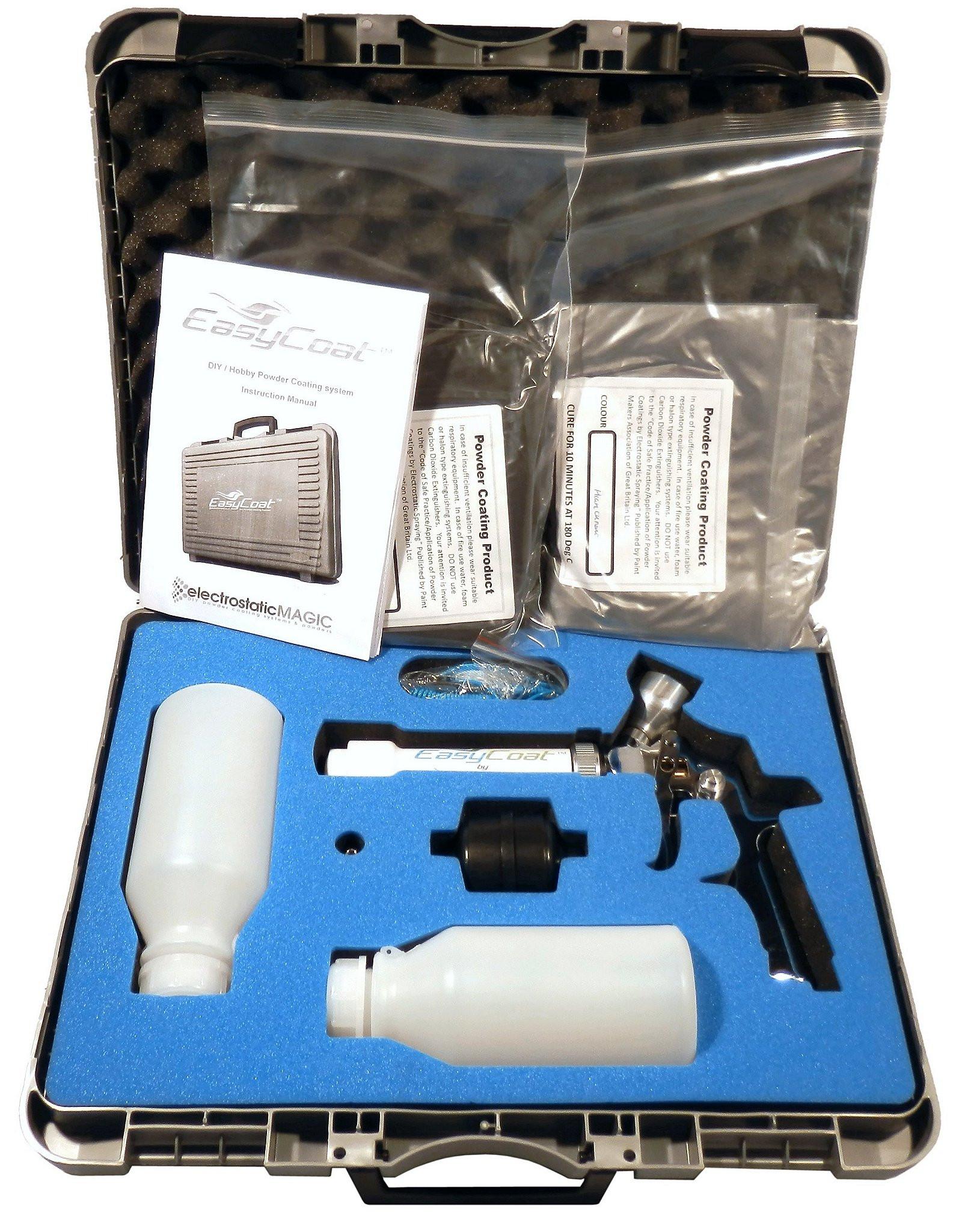 Best ideas about DIY Powder Coating Kit . Save or Pin EasyCoat ElectroStaticMAGIC DIY Hobby Plastic Powder Now.
