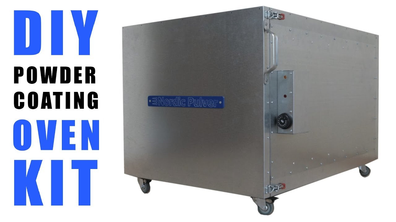 Best ideas about DIY Powder Coating Kits . Save or Pin DIY Powder Coating Oven KIT Assembly DIY Pulverofen Now.