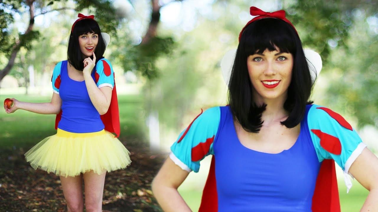 Best ideas about DIY Princess Costume . Save or Pin SNOW WHITE DIY DISNEY PRINCESS COSTUME Now.