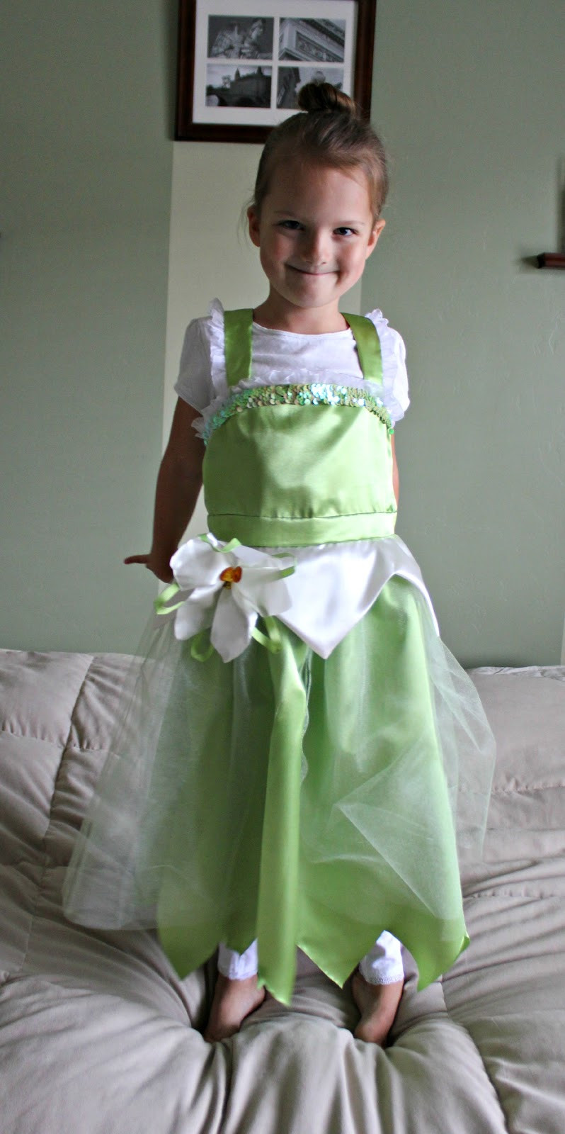 Best ideas about DIY Princess Costume . Save or Pin RisC Handmade Homemade Princess Tiana Costume Now.