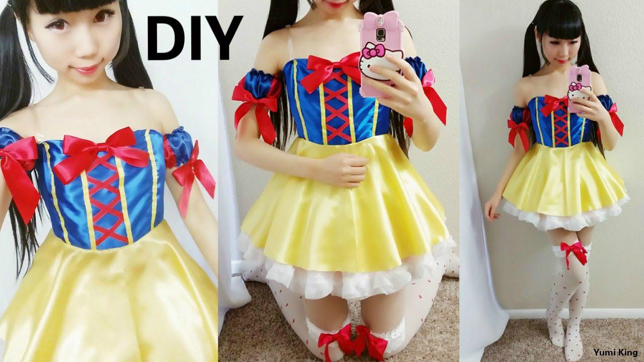 Best ideas about DIY Princess Costume . Save or Pin DIY Disney Princess Costume DIY Snow White Cosplay Now.