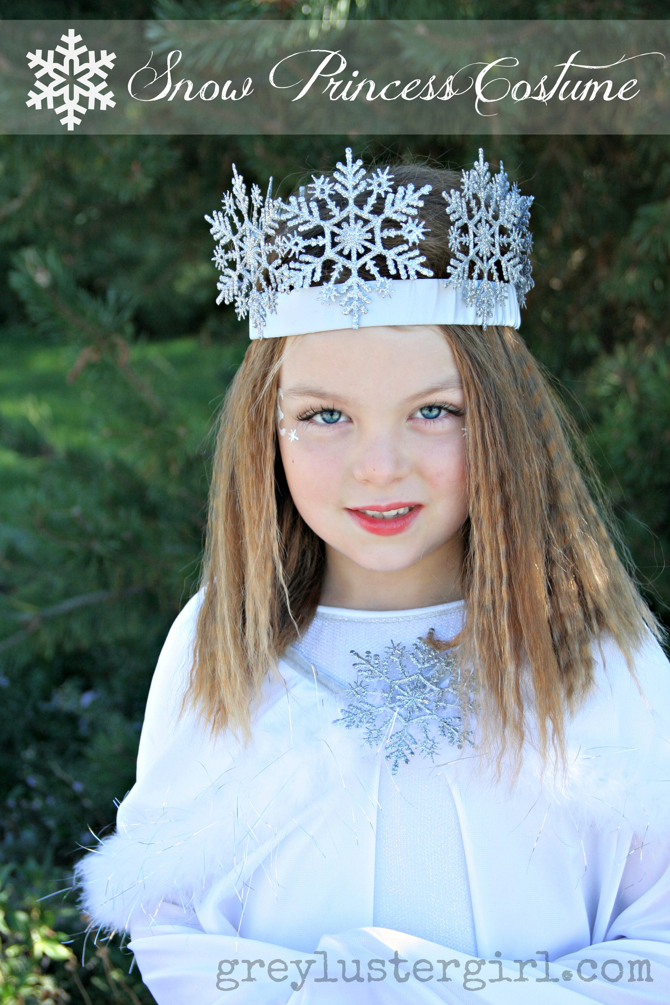 Best ideas about DIY Princess Costume . Save or Pin DIY Snow Princess Halloween Costume Now.