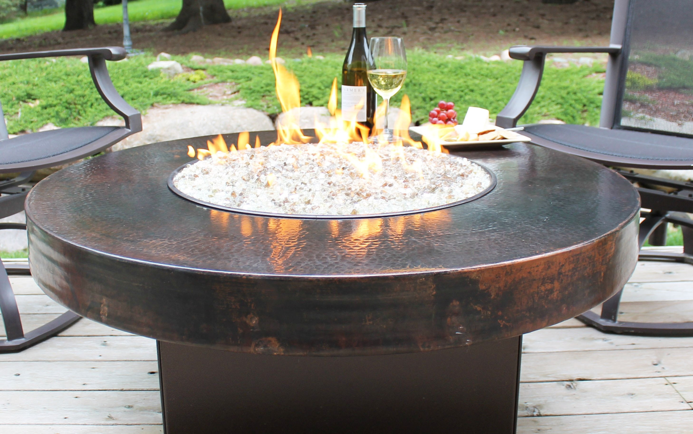 Best ideas about DIY Propane Fire Pit Kit . Save or Pin How to Make Tabletop Fire Pit Kit DIY Now.