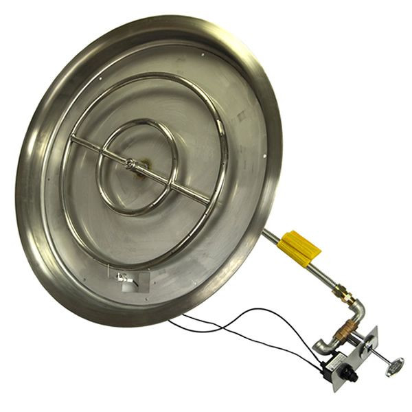 "Best ideas about DIY Propane Fire Pit Kit . Save or Pin 31"" Push Button Ignition Fire Pit Kit Now."