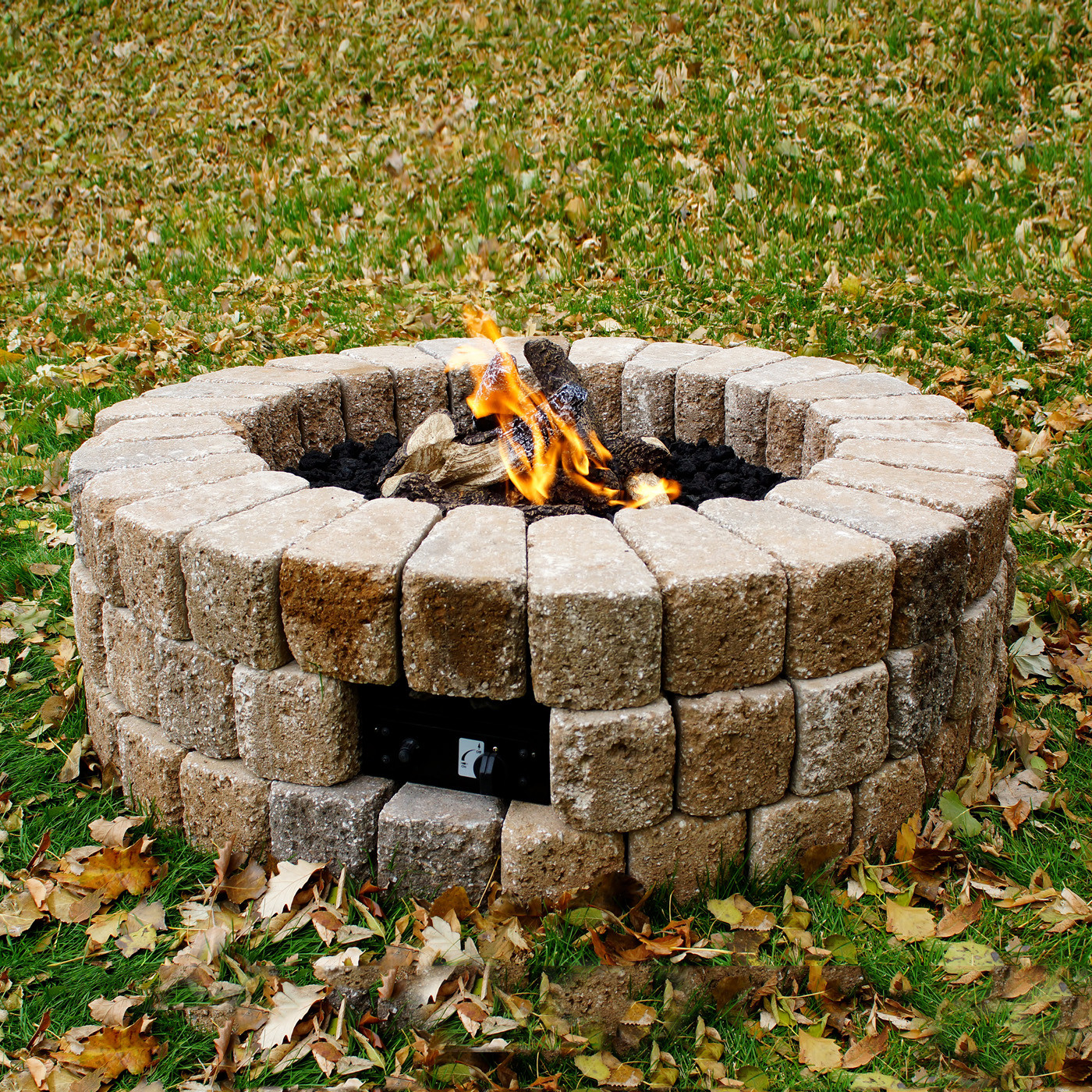 Best ideas about DIY Propane Fire Pit Kit . Save or Pin Outdoor Greatroom pany DIY 38 KIT Hardscape Do It Now.