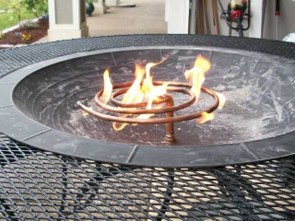 Best ideas about DIY Propane Fire Pit Kit . Save or Pin Best 25 Diy gas fire pit ideas on Pinterest Now.