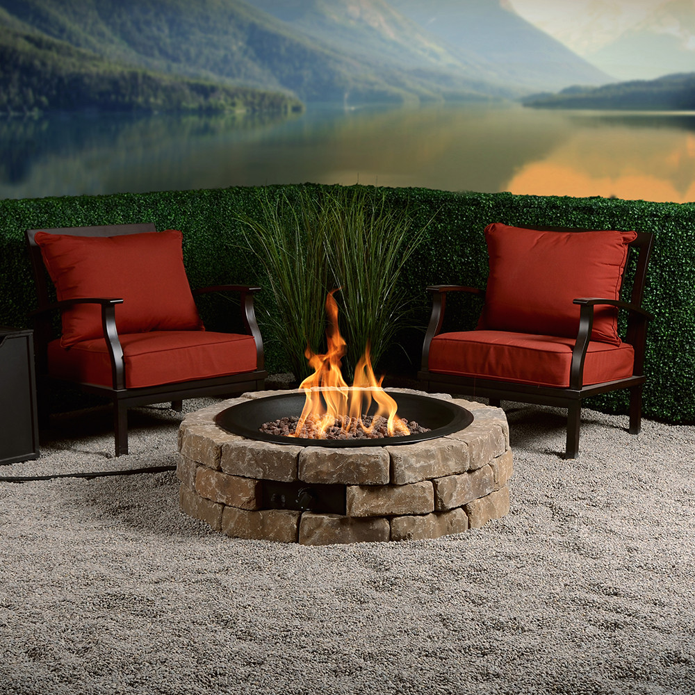 Best ideas about DIY Propane Fire Pit Kit . Save or Pin DIY Round Gas Fire Pit Kit – Bond MFG Heating Now.