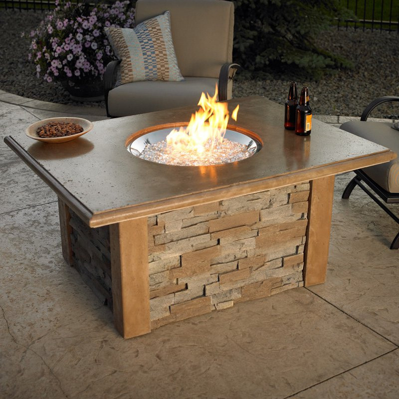 Best ideas about DIY Propane Fire Table . Save or Pin Outdoor GreatRoom Sierra Gas Fire Pit Table at Hayneedle Now.
