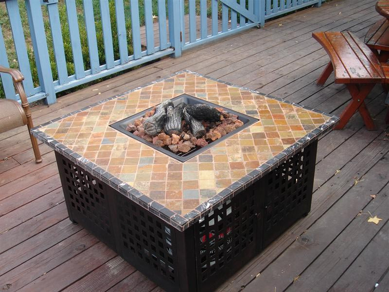 Best ideas about DIY Propane Fire Table . Save or Pin How to Make a DIY Fire Pit Table Top Now.