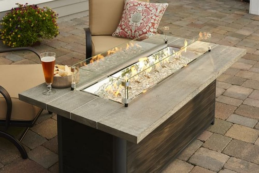 Best ideas about DIY Propane Fire Table . Save or Pin DIY Fire Pit Coffee Table Now.