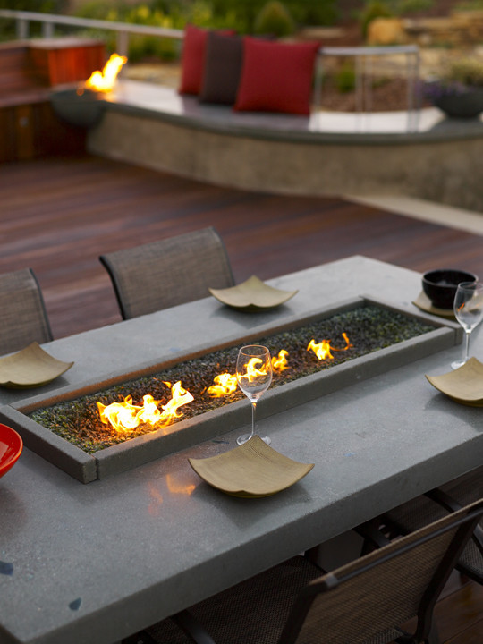 Best ideas about DIY Propane Fire Table . Save or Pin Elegant tabletop fire pit Remodeling ideas for Patio Rustic Now.