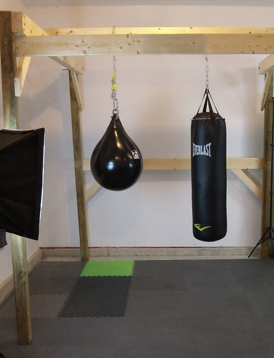 Best ideas about DIY Punch Bag Stand . Save or Pin The Home Made Boxing Gym Guide Now.
