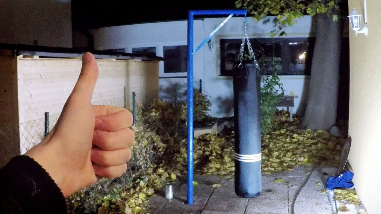 Best ideas about DIY Punch Bag Stand . Save or Pin DIY Punching Bag Hanger Almost Done Now.