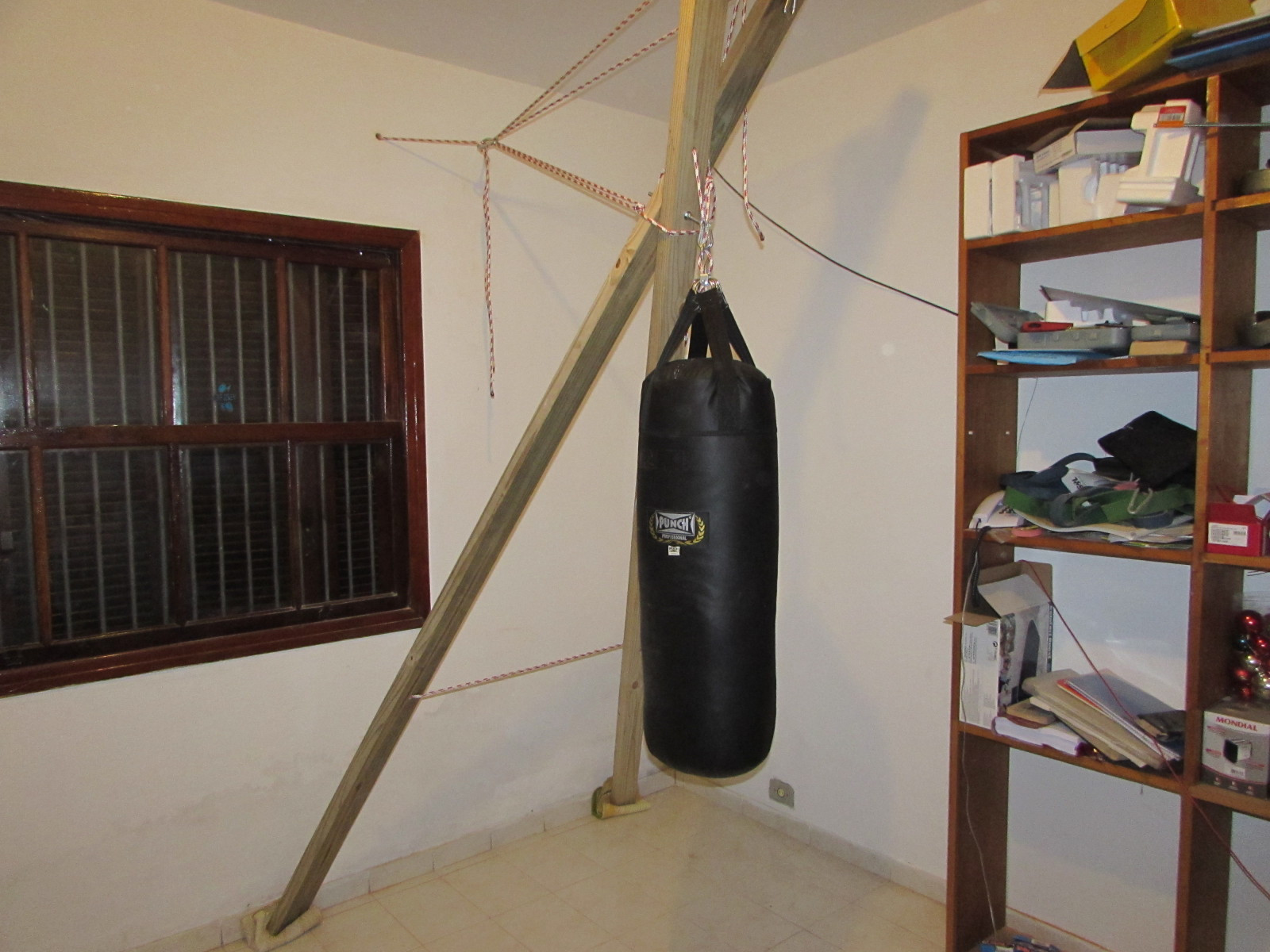 Best ideas about DIY Punch Bag Stand . Save or Pin heavy bag stand diy DIY Unixcode Now.