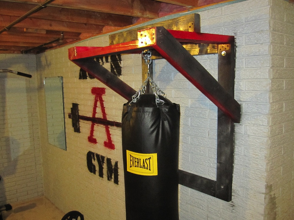 Best ideas about DIY Punch Bag Stand . Save or Pin Diy Punching Bag Hanger DIY Projects Now.