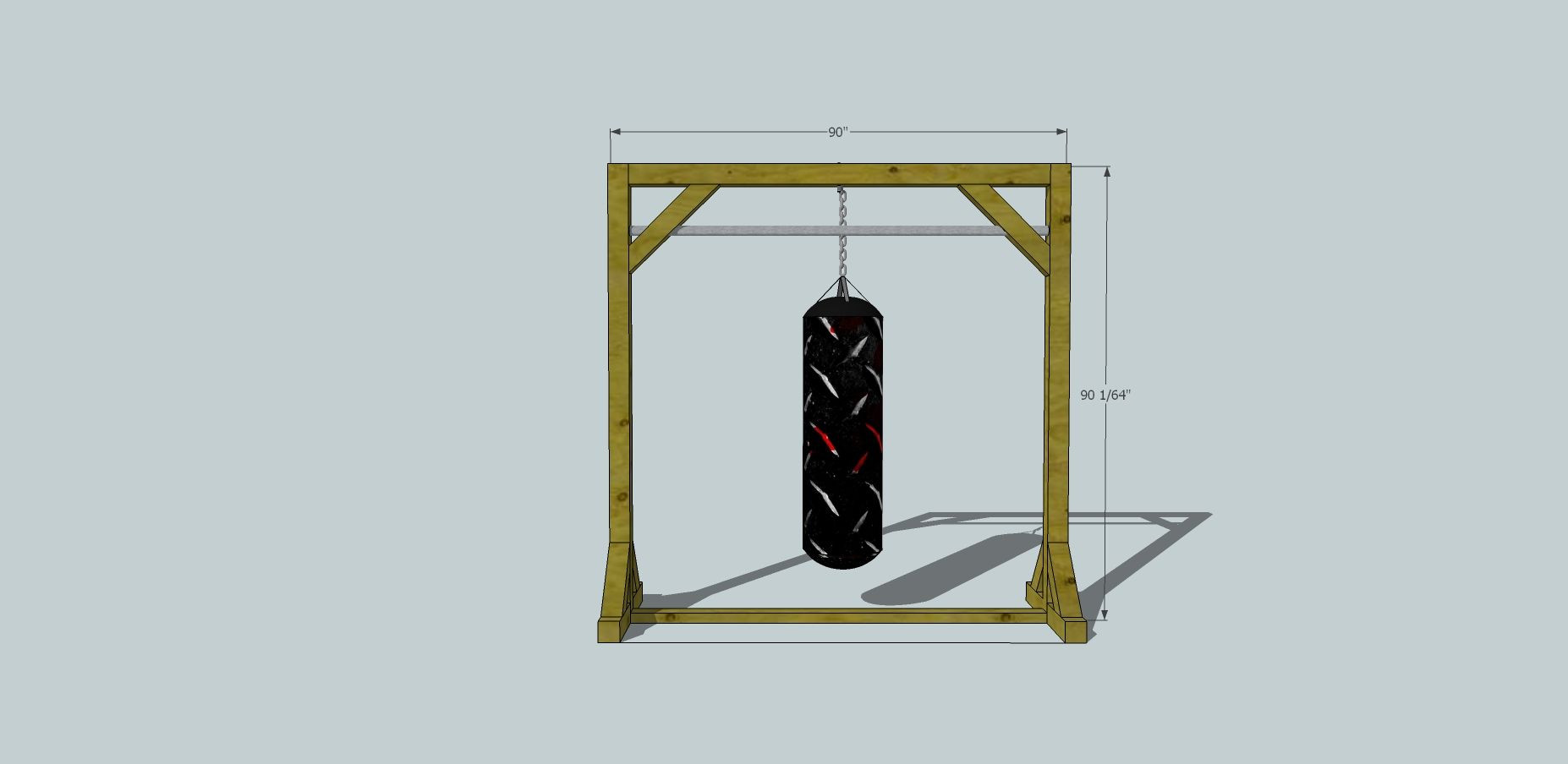 Best ideas about DIY Punch Bag Stand . Save or Pin diy punching bag stand Bing DIY Now.