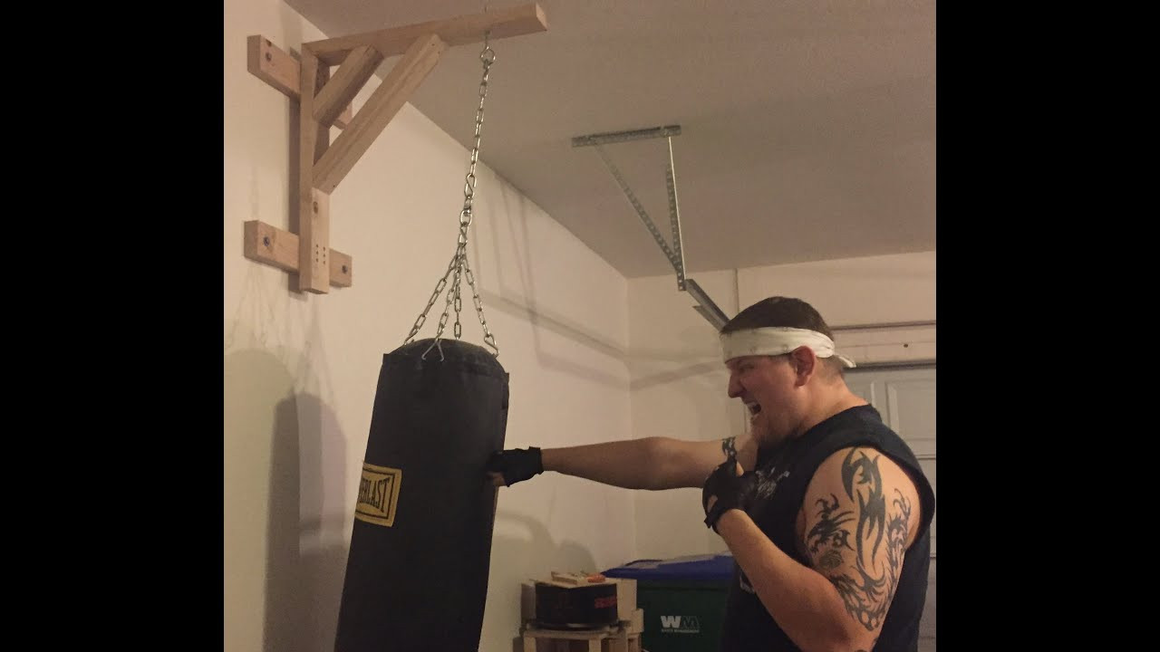 Best ideas about DIY Punch Bag Stand . Save or Pin How to make a heavy bag stand for less than $15 Now.