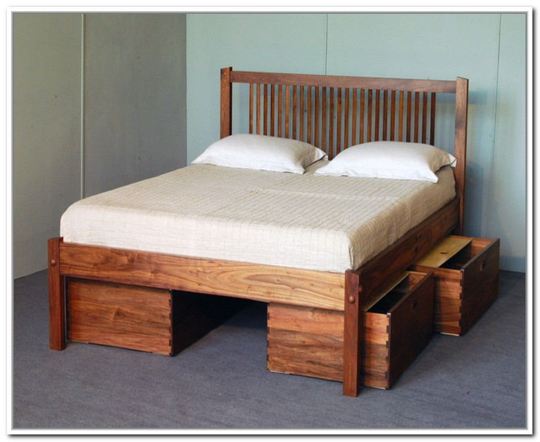 Best ideas about DIY Queen Storage Bed . Save or Pin 55 Platform Bed Diy With Storage Diy Platform Beds With Now.