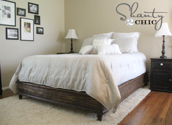 Best ideas about DIY Queen Storage Bed . Save or Pin DIY Queen Platform Bed Shanty 2 Chic Now.