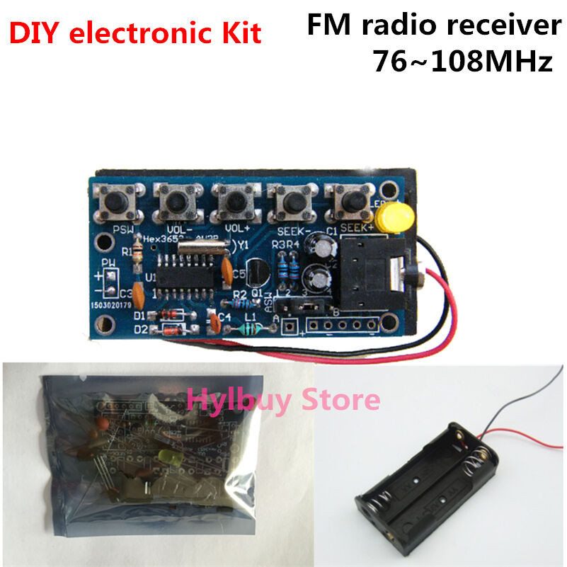 Best ideas about DIY Radio Kit . Save or Pin 76MHz 108MHz Wireless Stereo FM Radio Receiver Module Now.