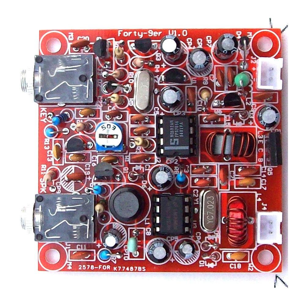 Best ideas about DIY Radio Kit . Save or Pin DIY KITS Forty 9er 3W HAM Radio QRP CW HF Radio Now.