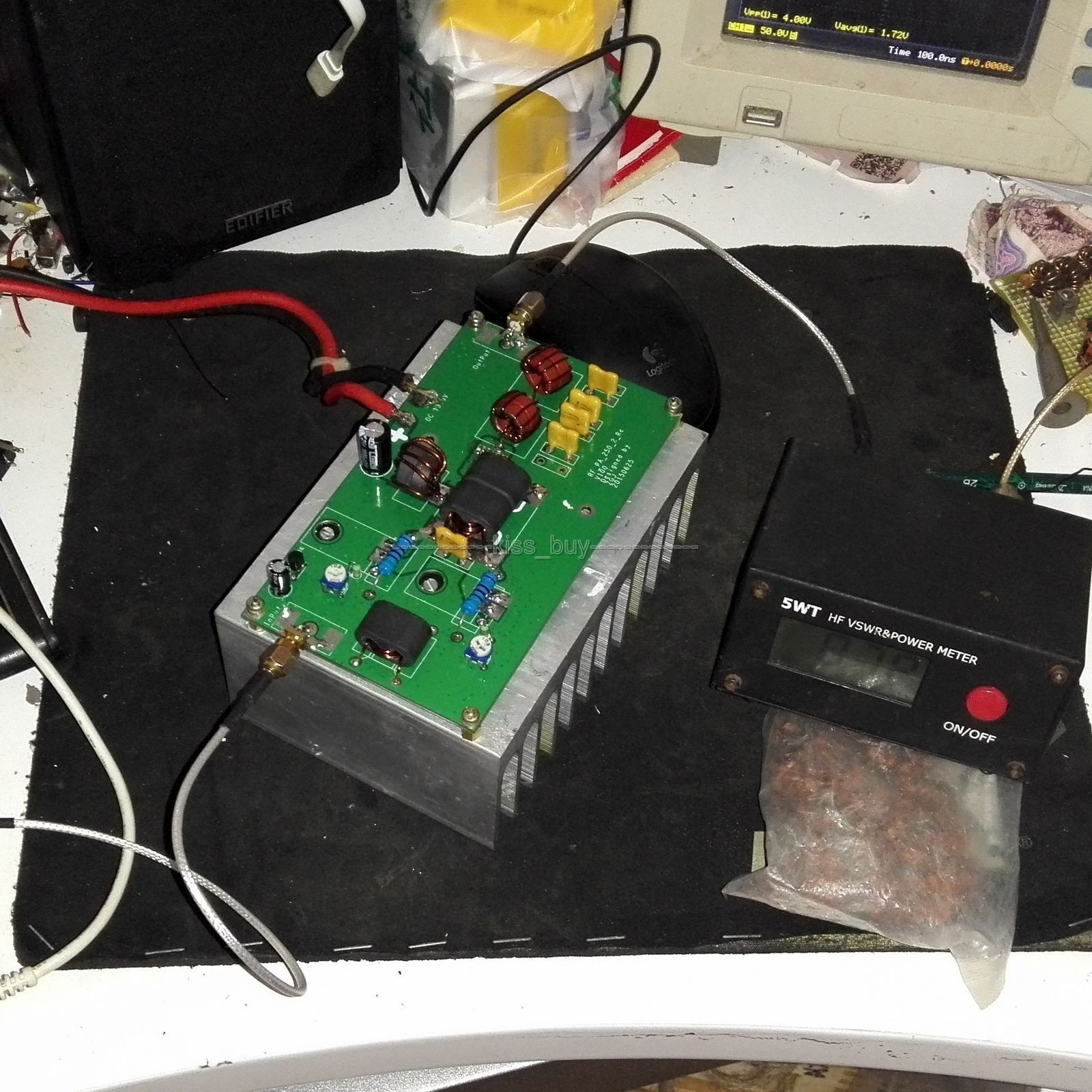 Best ideas about DIY Radio Kit . Save or Pin High Frequency 100W linear power amplifier DIY KITS for Now.