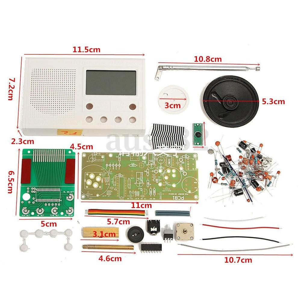 Best ideas about DIY Radio Kit . Save or Pin DIY FM Radio Kit Electronic Learning Basic Suite Frequency Now.
