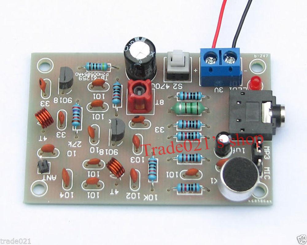 Best ideas about DIY Radio Kit . Save or Pin DIY Electronic Kit Advance FM Radio Transmitter mic Now.
