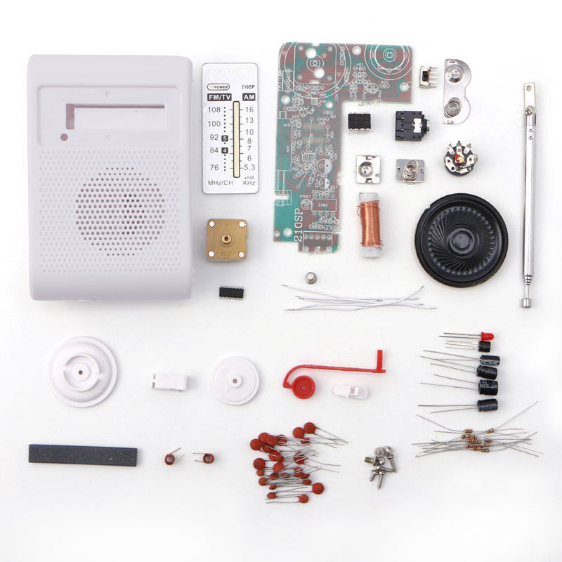 Best ideas about DIY Radio Kit . Save or Pin CF210SP AM FM Stereo Radio Kit DIY Electronic Assemble Set Now.