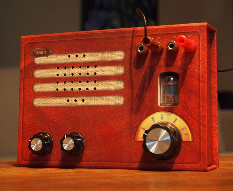 Best ideas about DIY Radio Kit . Save or Pin Retro DIY Tube Radio Kit is Plain Gorgeous Now.