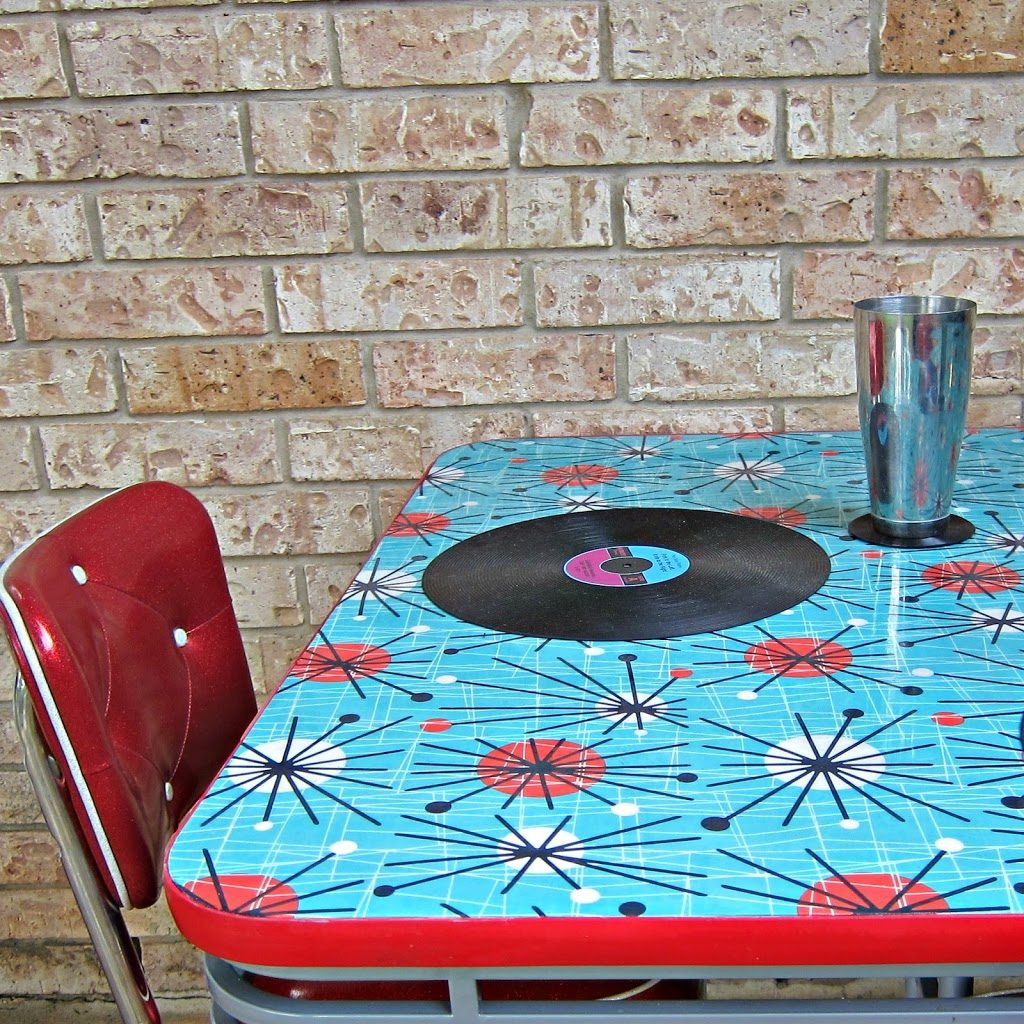 Best ideas about DIY Resin Table . Save or Pin How to Refinish a Dining Table with Fabric Mod Podge and Now.