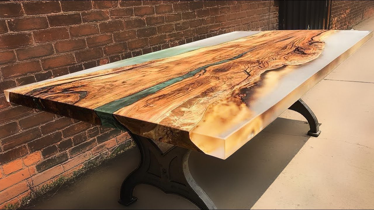 Best ideas about DIY Resin Table . Save or Pin 10 Amazing Epoxy Resin and Wooden River Table Awesome Now.