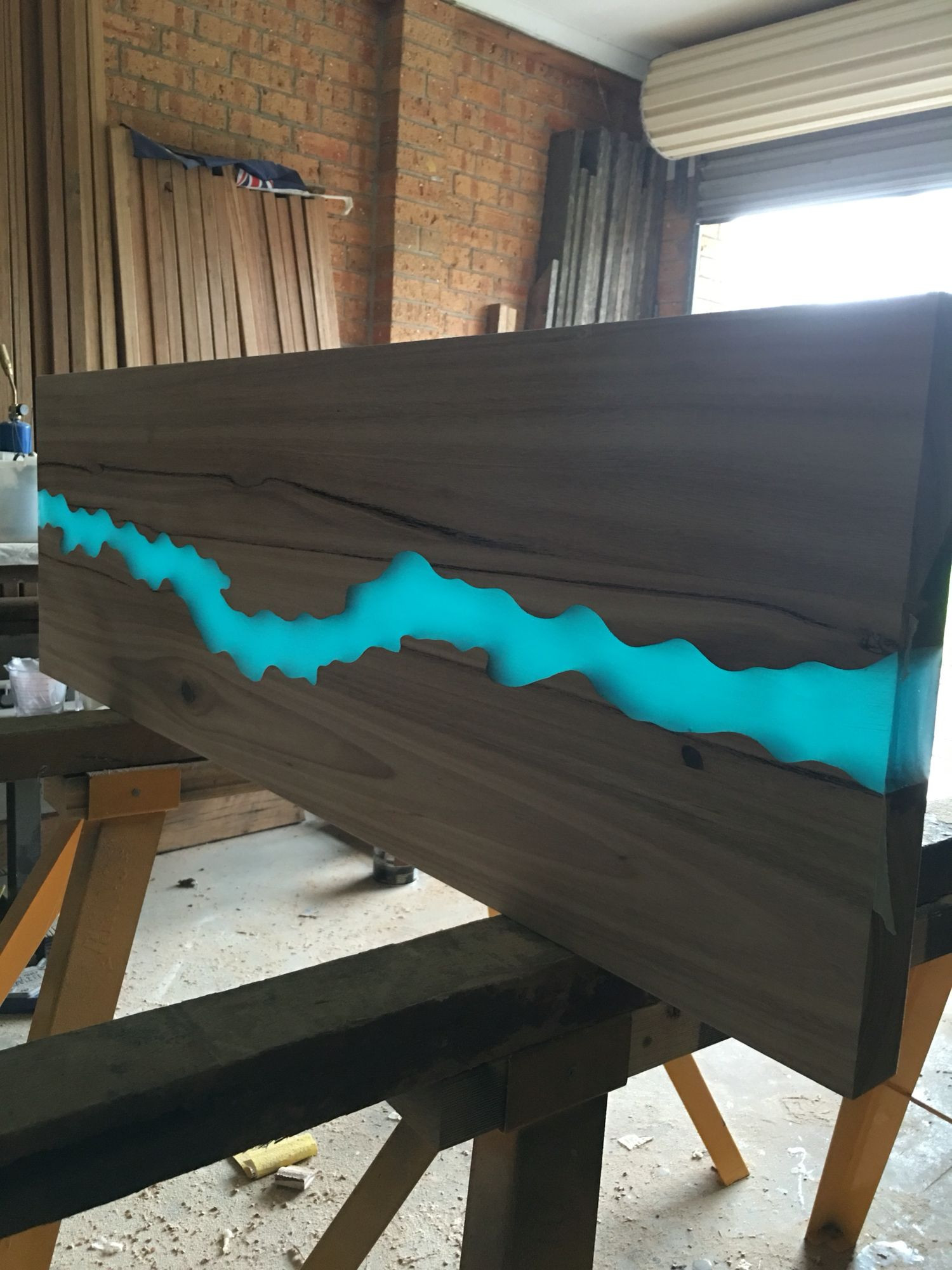 Best ideas about DIY Resin Table . Save or Pin Resin river table top … Now.