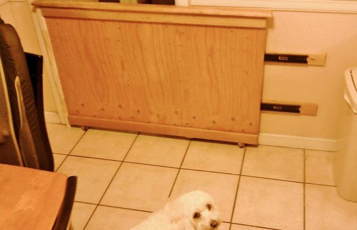 Best ideas about DIY Retractable Baby Gate . Save or Pin Heartland america sliding wood pet gate Now.