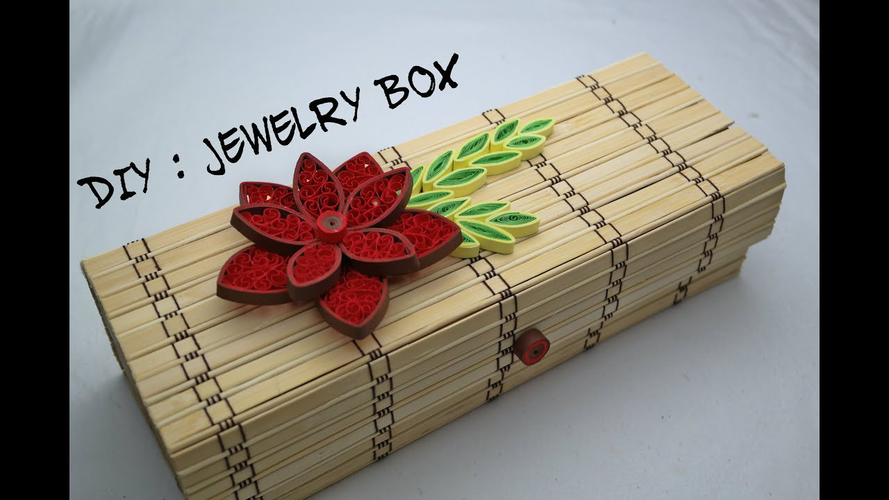 Best ideas about DIY Ring Box . Save or Pin DIY How To Make Jewelry Box DIY Jewelry Boxes Now.