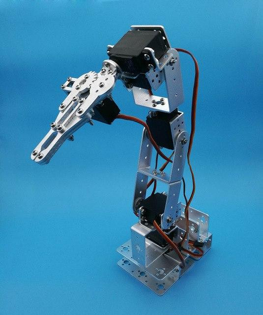 Best ideas about DIY Robot Arm Kit Educational Robotic Claw Set . Save or Pin 1set 6 DOF Robot Arm Mechanical Claw Metal base Now.