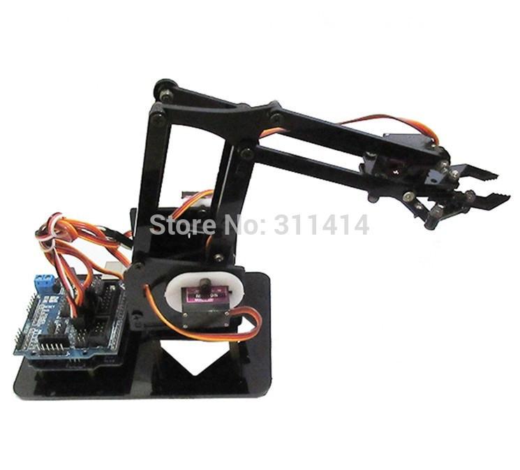 Best ideas about DIY Robot Arm Kit Educational Robotic Claw Set . Save or Pin 1set DIY Acrylic Robot Arm Robot Claw Arduino Kit 4DOF Now.