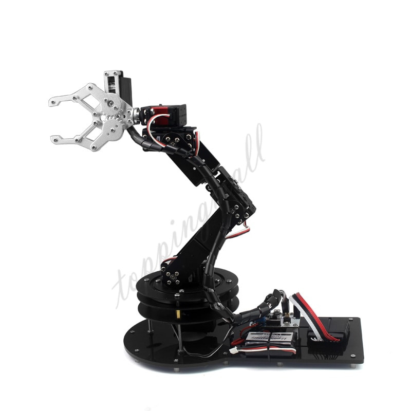 Best ideas about DIY Robot Arm Kit Educational Robotic Claw Set . Save or Pin 6DOF Arm Mechanical Robotic Clamp Claw Mount Kits Silver w Now.