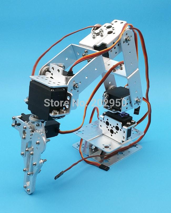 Best ideas about DIY Robot Arm Kit Educational Robotic Claw Set . Save or Pin 1set Aluminium Robot 6 DOF Arm Mechanical Robotic Arm Now.
