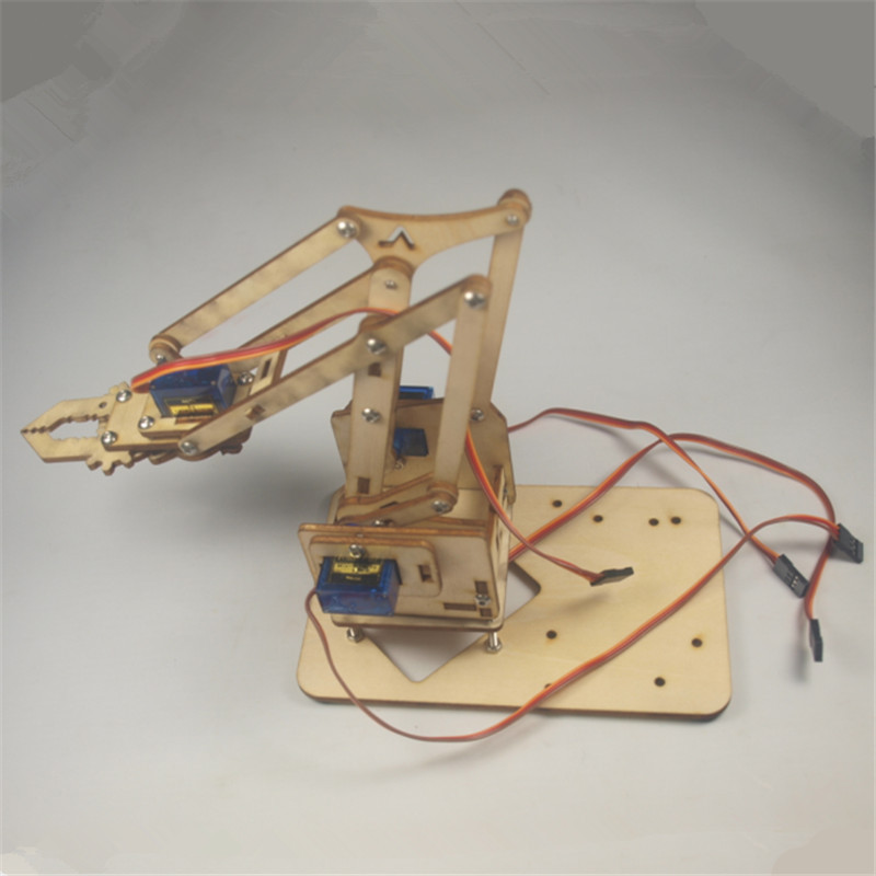 Best ideas about DIY Robot Arm Kit Educational Robotic Claw Set . Save or Pin SWMAKER DIY meArm Mini Industrial Robotic Arm Deluxe Kit Now.