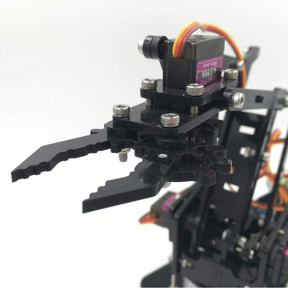Best ideas about DIY Robot Arm Kit Educational Robotic Claw Set . Save or Pin DIY Robot Arm Kit Educational Robotic Claw Set – Shopreview Now.