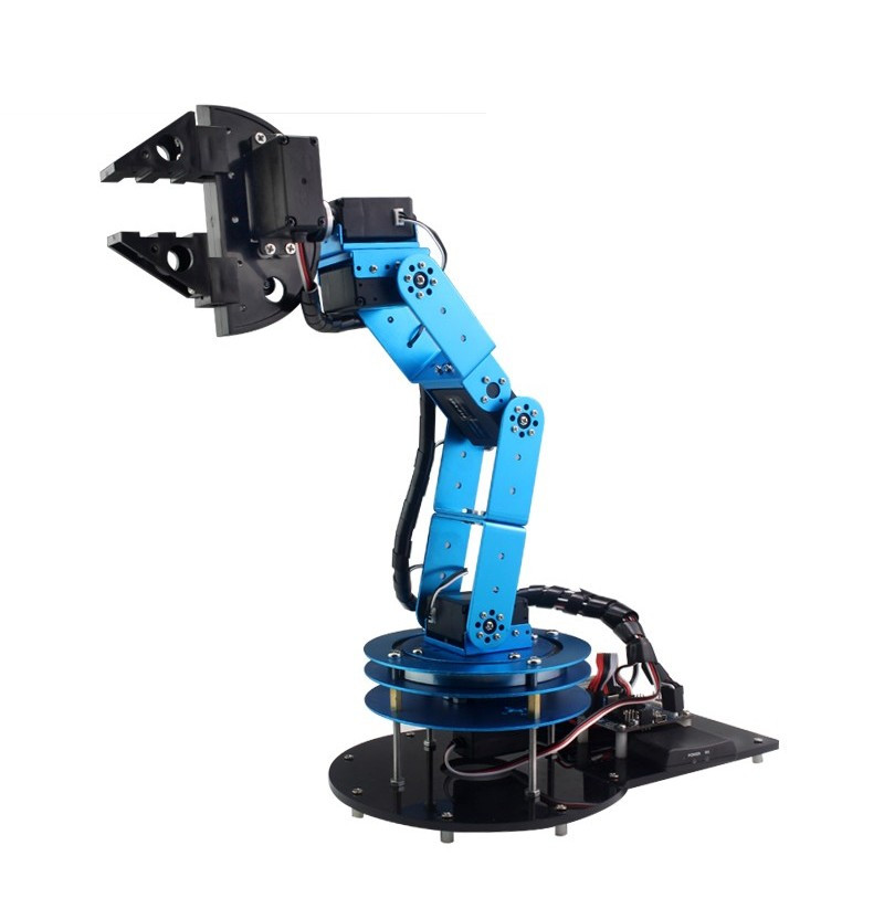 Best ideas about DIY Robot Arm Kit Educational Robotic Claw Set . Save or Pin DIY 6DOF Robot Arm 51 Microcontroller Mechanical arm With Now.