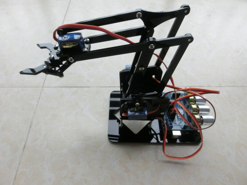 Best ideas about DIY Robot Arm Kit Educational Robotic Claw Set . Save or Pin DIY Acrylic robot arm robot claw arduino kit 4DOF toys Now.