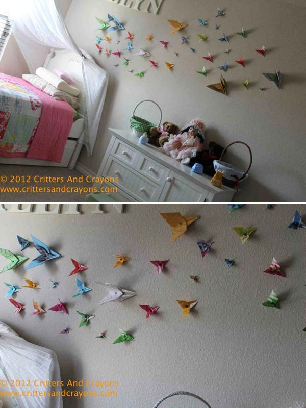 Best ideas about DIY Room Decorations For Kids . Save or Pin Top 28 Most Adorable DIY Wall Art Projects For Kids Room Now.