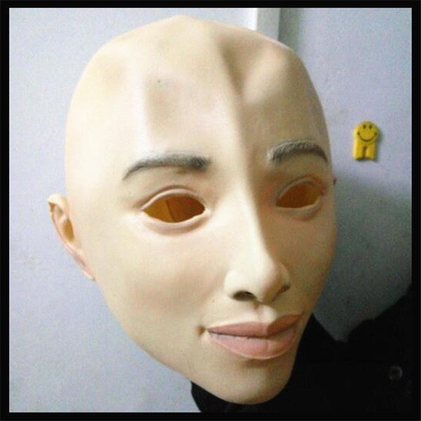Best ideas about DIY Rubber Mask . Save or Pin Halloween Realistic Female Mask Rubber Latex Party Now.