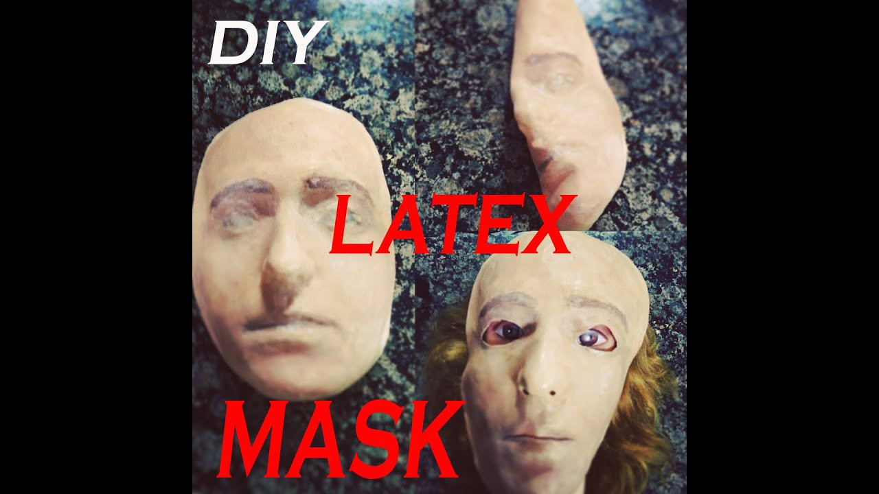 Best ideas about DIY Rubber Mask . Save or Pin DIY MASCARA DE LATEX DIY LATEX MASK p1 Now.